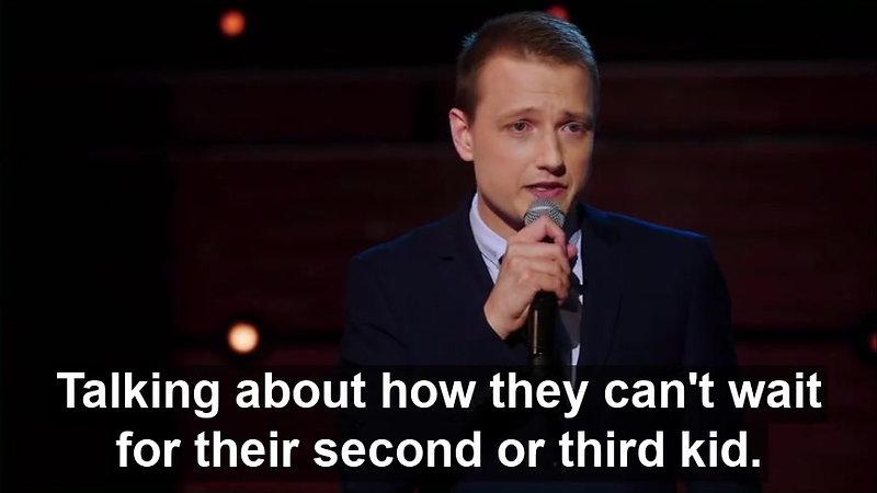 Erik Bergstrom Comedy Central