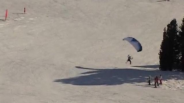 Speed flying Obertauern