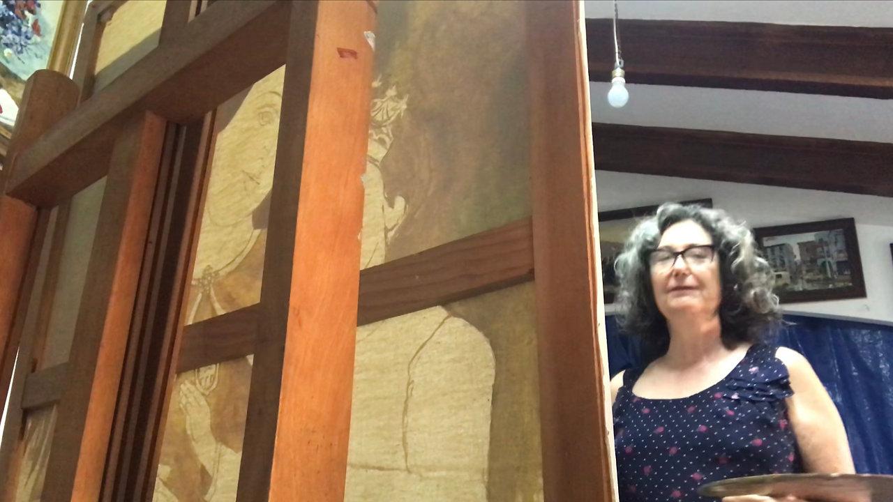 Visitas al Museo Taller de Arte y el jardín de Divina