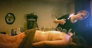 Fire Cupping with massage therapy