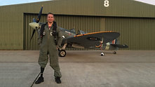 The Spitfire Scholarship - Alan's Spitfire solo