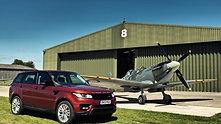 Range Rover Sport vs Spitfire | Car vs Plane at Goodwood