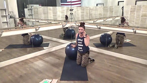 Megan Full Body Stability Ball Workout