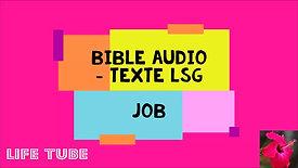 JOB - Bible Audio Louis Segond avec texte écrit - Ancien Testament