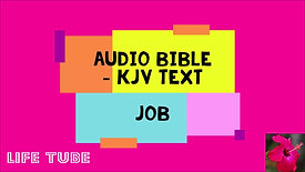 Job - KJV Audio Bible with written text