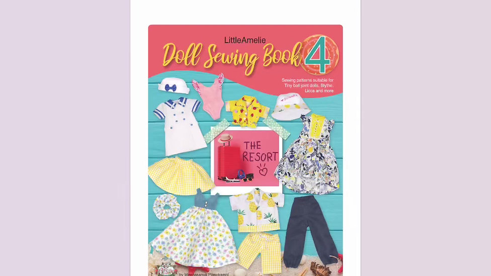 Doll Sewing Book4