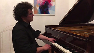 piano improvisation - another tee for two - Online Piano_concert_with_Artem_Yasynskyy_