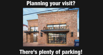 Where to park at Ferry Market