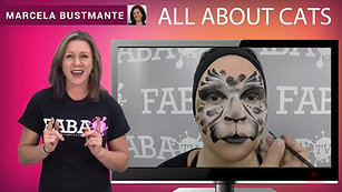 How To Face Paint | All About Cats | Marcela Bustamante