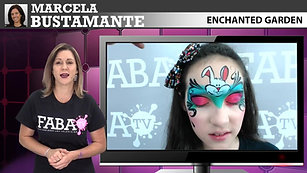 Enchanted Garden Face Painting | Marcela Bustamante