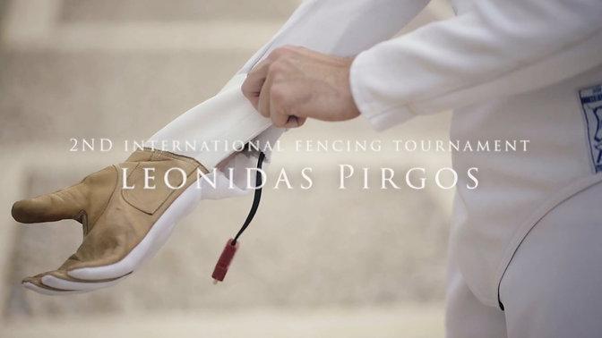 2nd international fencing tournament Leonidas Pirgos - Facebook spot