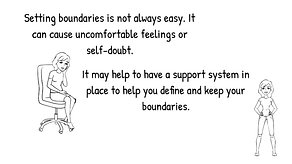 About Boundaries