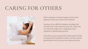 Spiritual Support