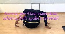 Esercizi per il benessere della schiena, delle spalle e cervicali