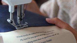 Handcrafting Your Custom Message Handbag