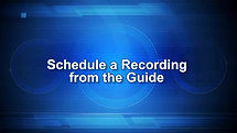 Recording Programs And Reminders