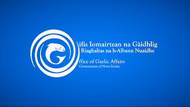 Gaelic Affairs Nova Scotia