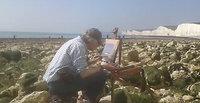 Andrew King ROI painting en plein air