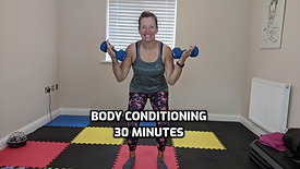 Body Conditioning with weights & super stretch