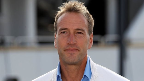 Good luck from Ben Fogle