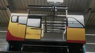 Structure métallique pour formation d'hélitreuillage