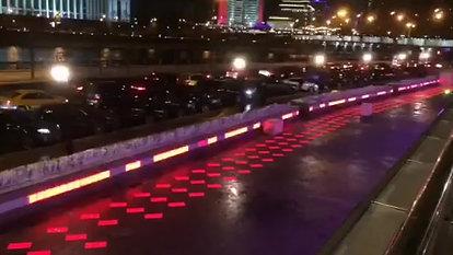 Плитка световая