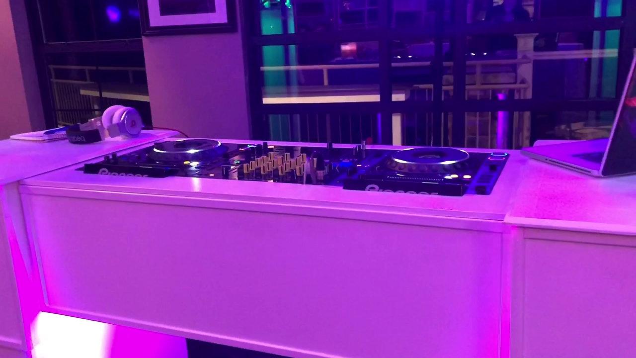 Custom DJ Table