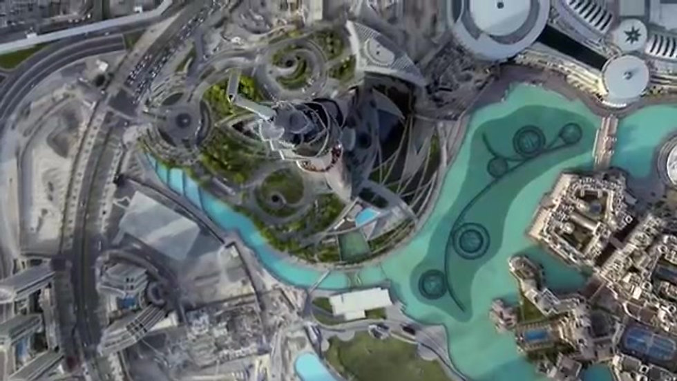 Dubai - View from Top