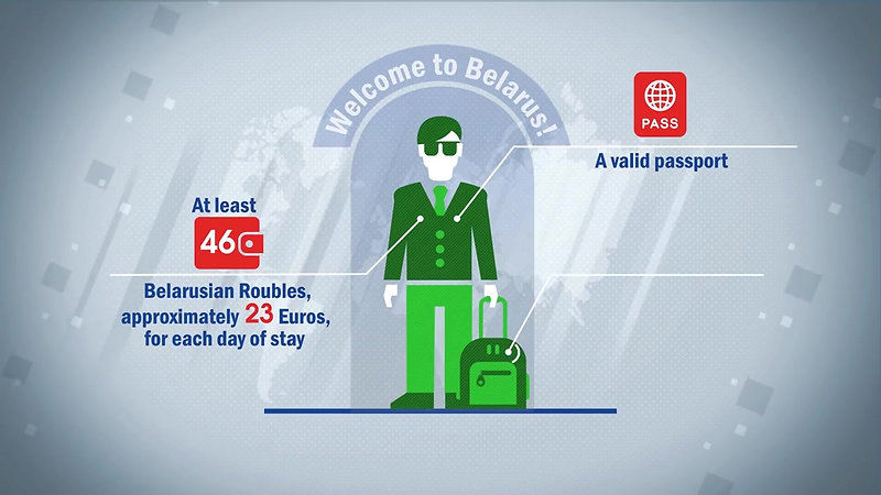 Visa-free travel to Belarus