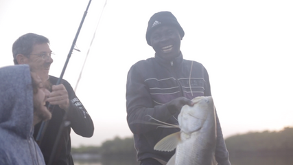 Catching a Capitaine in Senegal
