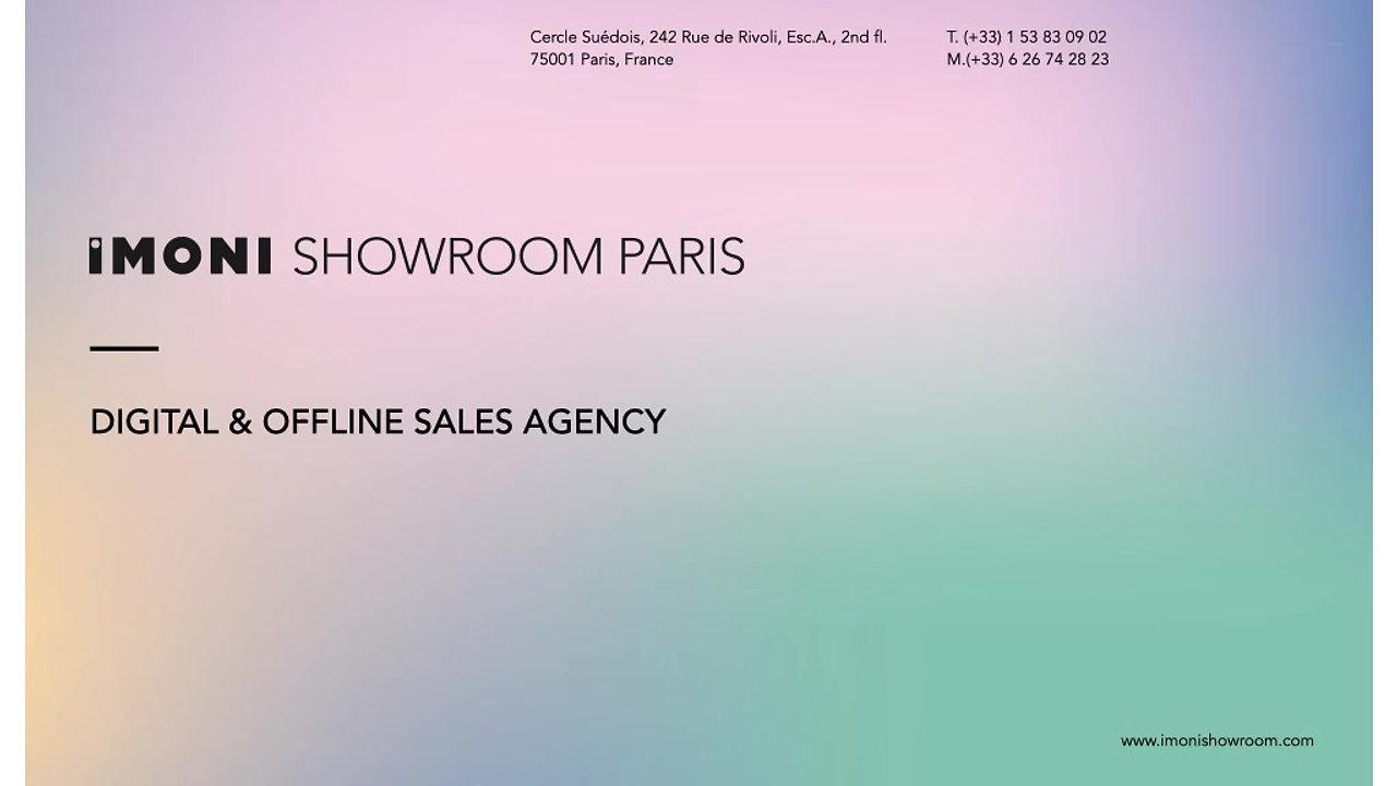 IMONI Showroom Paris Presentation 2021