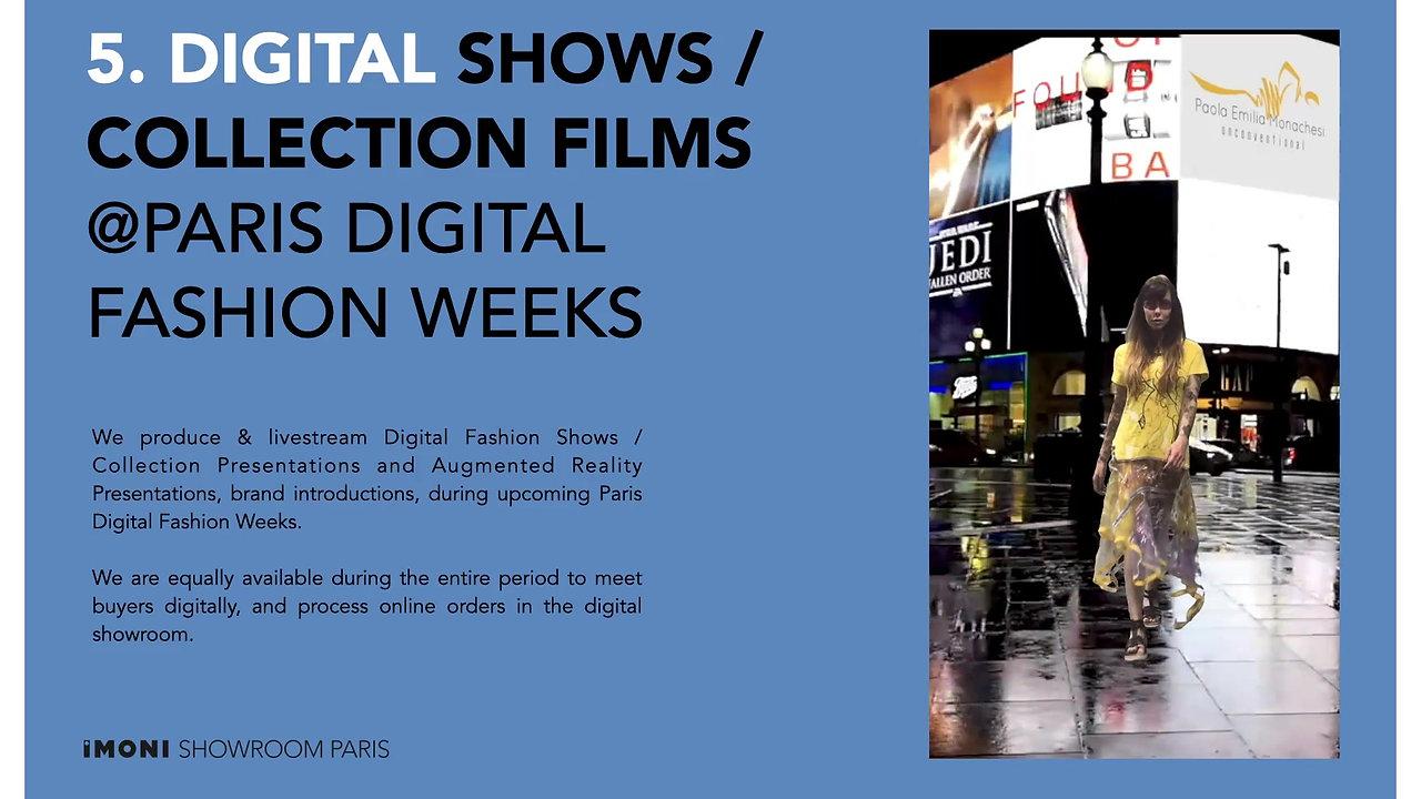 IMONI Showroom Paris Presentation June 21