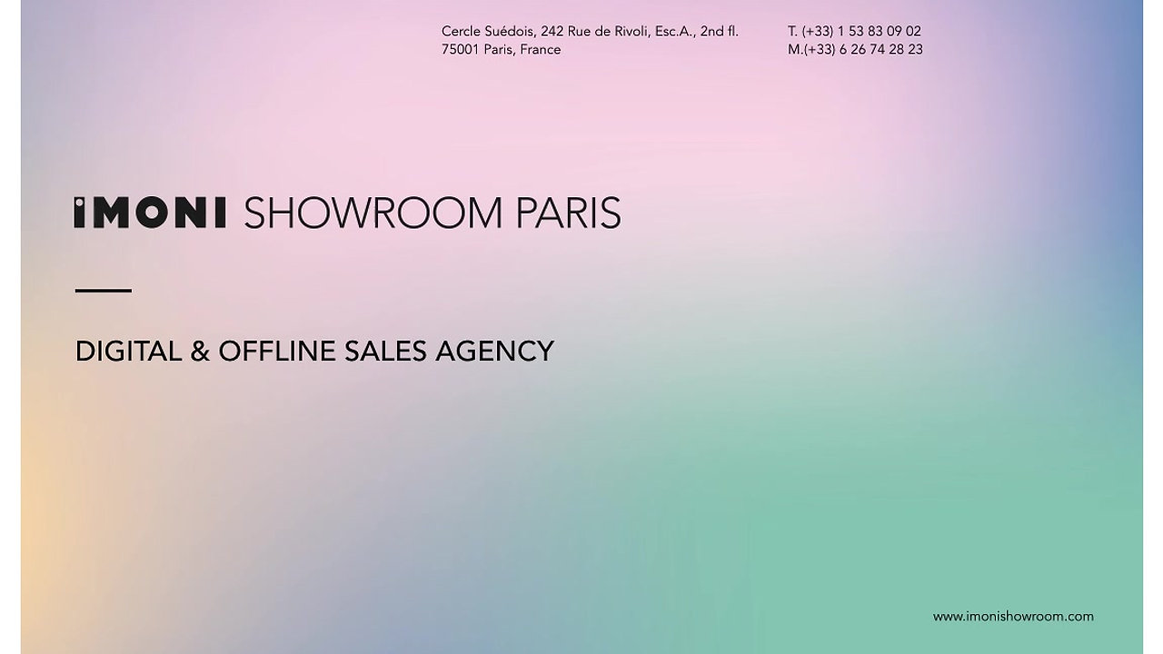 IMONI Showroom Paris Presents