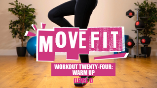 MoveFit Individual Workout 24 | Warm Up (Level 1)