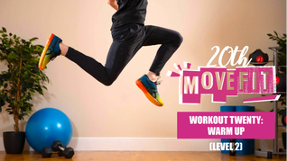 MoveFit Individual Workout 20   Warm Up (Level 2)