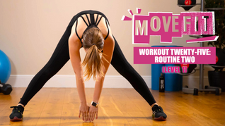 MoveFit Individual Workout 25 | Routine 2 (Level 1)