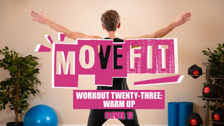 MoveFit Individual Workout 23   Warm Up (Level 1)