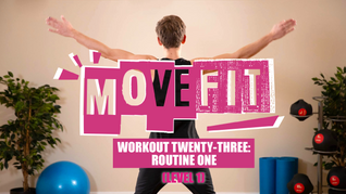 MoveFit Individual Workout 23   Routine 1 (Level 1)