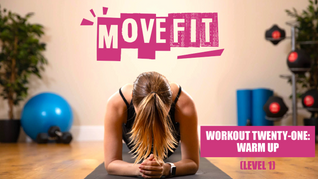 MoveFit Individual Workout 21   Warm Up (Level 1)