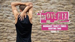 MoveFit Individual Workout 33   Routine 2 (Level 1)