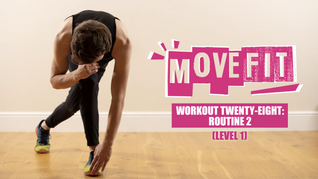 MoveFit Individual Workout 28 | Routine 2 (Level 1)