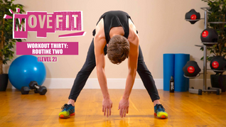 MoveFit Individual Workout 30 | Routine 2 (Level 2)