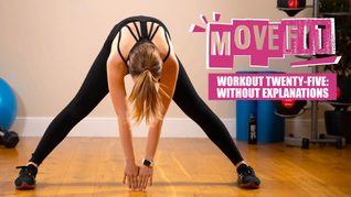 MoveFit Workout 25 | Without Explanations