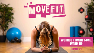 MoveFit Individual Workout 21   Warm Up (Level 2)