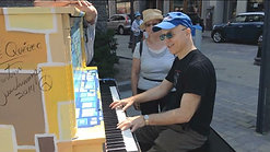 I found a piano on the street in Quebec