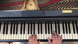Intro to accompanying yourself at the piano pt 3