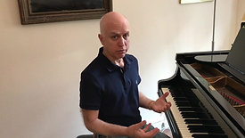 Intro to accompanying yourself at the piano Pt 1