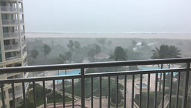 Florida Winter Storm with Heavy Winds