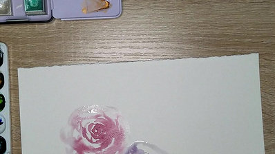 Watercolors in real time!