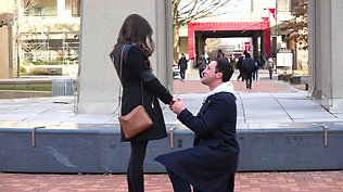 Temple Bell Tower Engagement